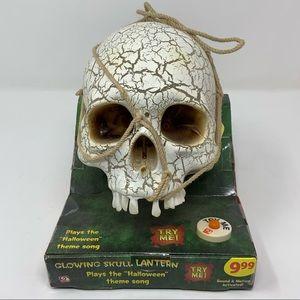 Skull plays Halloween Theme Song.